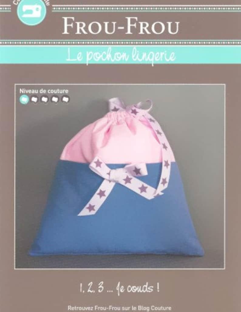 tutorial creative card FCFF7 Pouch for lingerie FROU FROU