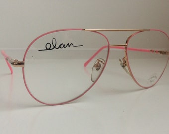 ef3f63b0a8 Pink Aviators Vintage Eyeglass Frames