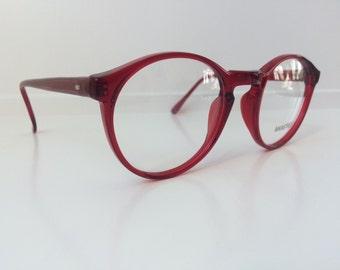 5f7653fbb33f Vintage Red Eyeglass Frames