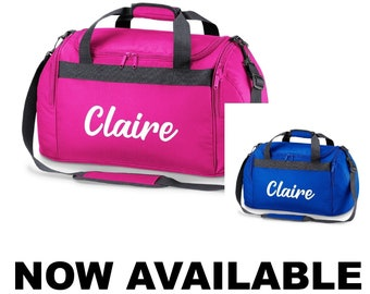 a2dbc5dc13f Personalised Name Swimming Dance Kit Sports Holdall Bag School Phys Ed  Fitness Kit