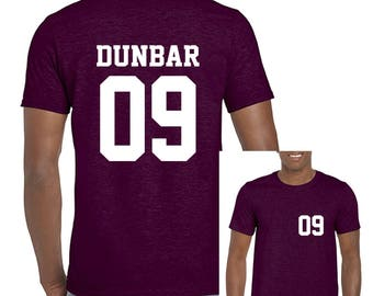Liam Dunbar 09 Unisex Short Sleeve T-shirt Teenwolf Beacon Hills Teen WolfT shirt Tshirt Jersey