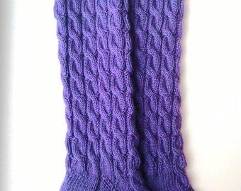 Women's knee long socks