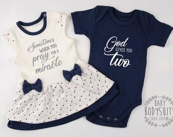 3088a851252e3 Twin baby clothes | Etsy