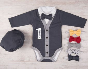 9f19096485a4 Boys first birthday outfit