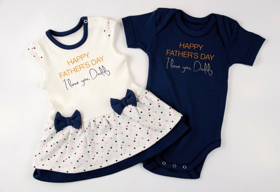 bodysuit twin girl clothes Twins First Fathers Day Daddy/'s girls 1st Father/'s Day opt set Twin Girls One Piece Twin Girls Outfits