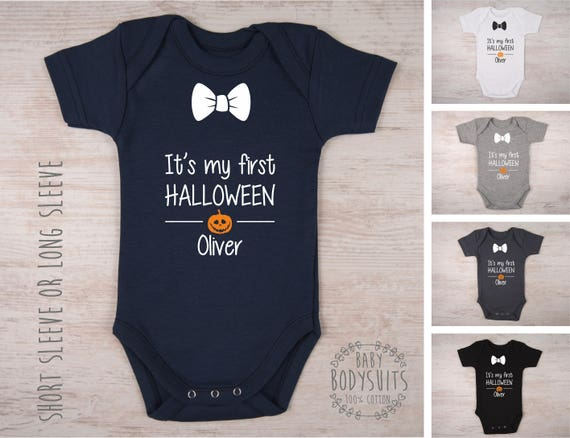 a2b45f2bd 1st HALLOWEEN Boy Outfit It's My First Halloween | Etsy