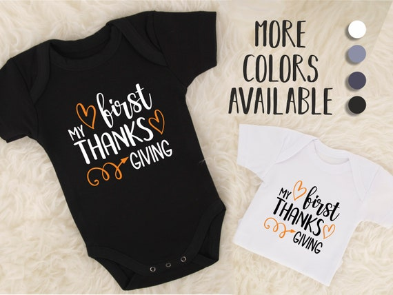 1befa90a1 My First Thanksgiving Outfit 1st Thanksgiving Outfit Boy | Etsy