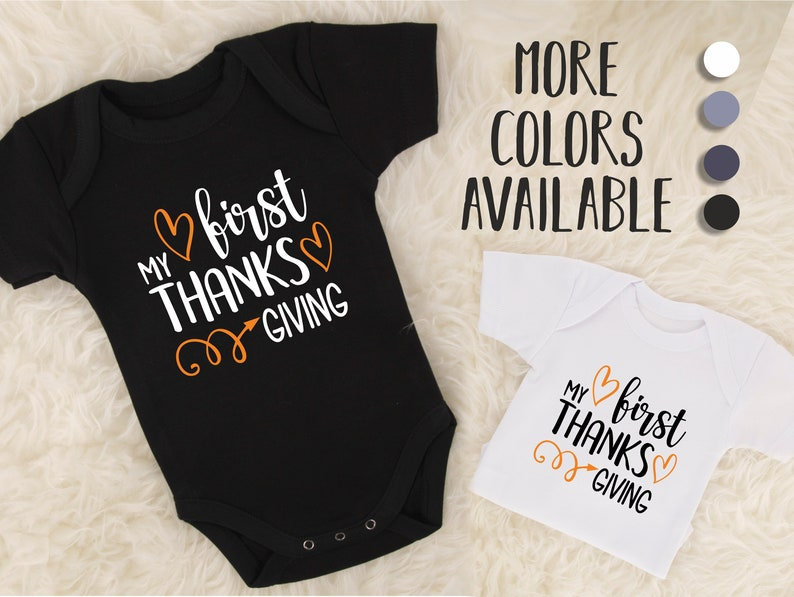 72383dd4a My First Thanksgiving Outfit 1st Thanksgiving Outfit Boy | Etsy