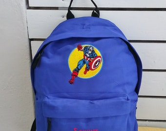 Robert Downey Jr Iron Man Chaplin Avengers Captain America Sherlock Holmes Backpack Bag