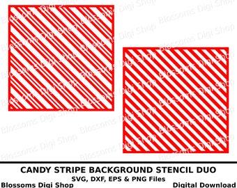 Candy Stripe Pattern Etsy