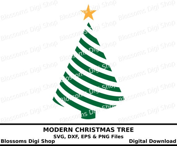 Christmas Tree Outline.Christmas Tree Svg Digital Download Christmas Dxf Tree Clipart Tree Eps Tree Outline Tree Stencil Star Svg Commercial Use Svg
