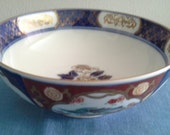 Limoges - Imari Hand Painted Decorative Bowl,1970s