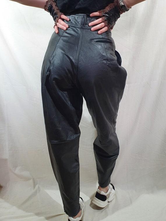 Attractive women's pants. Black women's pants made