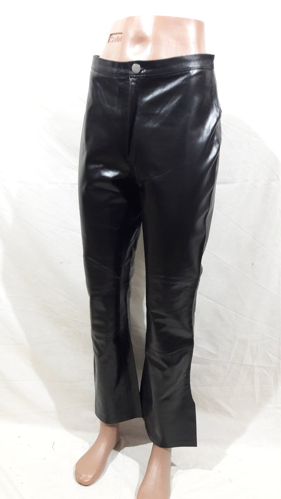 Reliable leather pants for women. Black women's pa