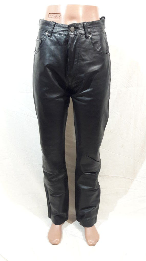 Men's leather pants for bikers and rockers