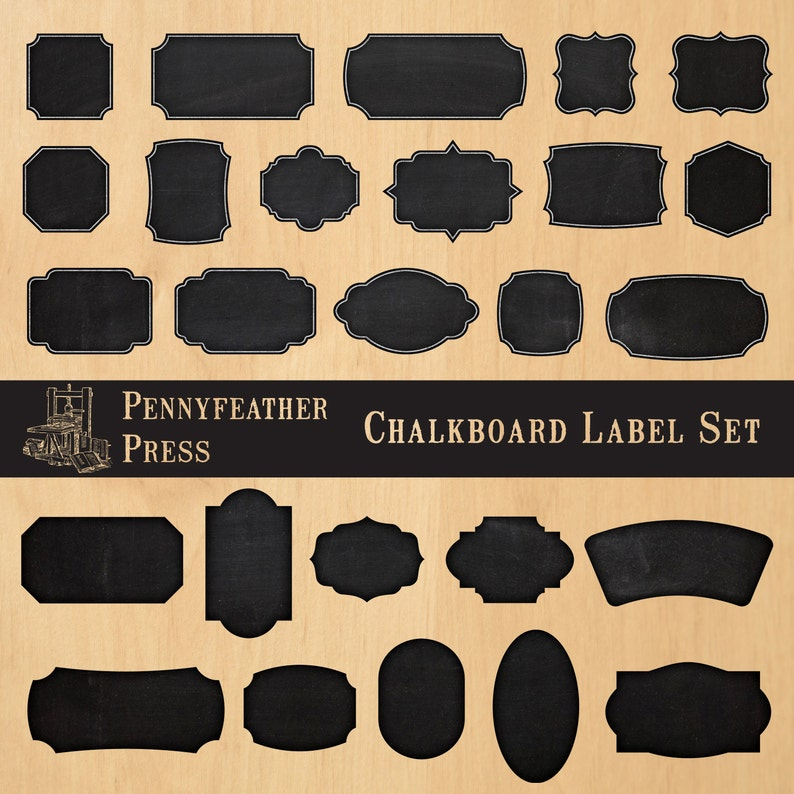 image relating to Printable Chalkboard Labels identify Printable Chalkboard Labels Chalkboard Frames Electronic Clip Artwork Graphics