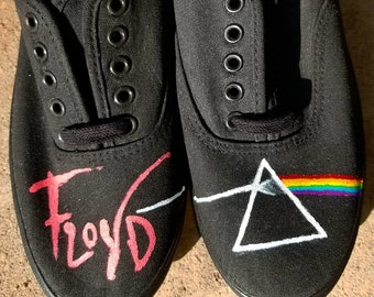 2db27183dfa5 Pink Floyd Inspired Vans