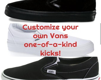 66024aed3b Design Your Own Hand Painted Vans!