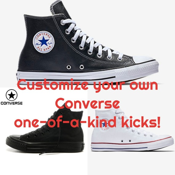 Design Your Own Hand Painted Converse!
