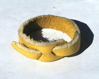 Handmade Leather Hobo Ring