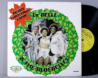 LaBelle & The Bluebelles - Merry Christmas From - Vintage Vinyl Record Album 1975