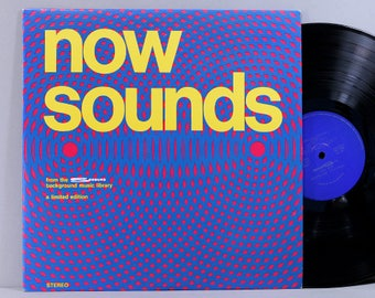 Now Sounds - From the Seeburg Background Music Library - Vinyl LP Record Album 1969 - Elevator Music Muzak-Like
