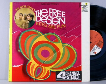 The Free Design - Kites Are Fun - Vintage Vinyl Record Album 1967 Original Press Gatefold Project 3