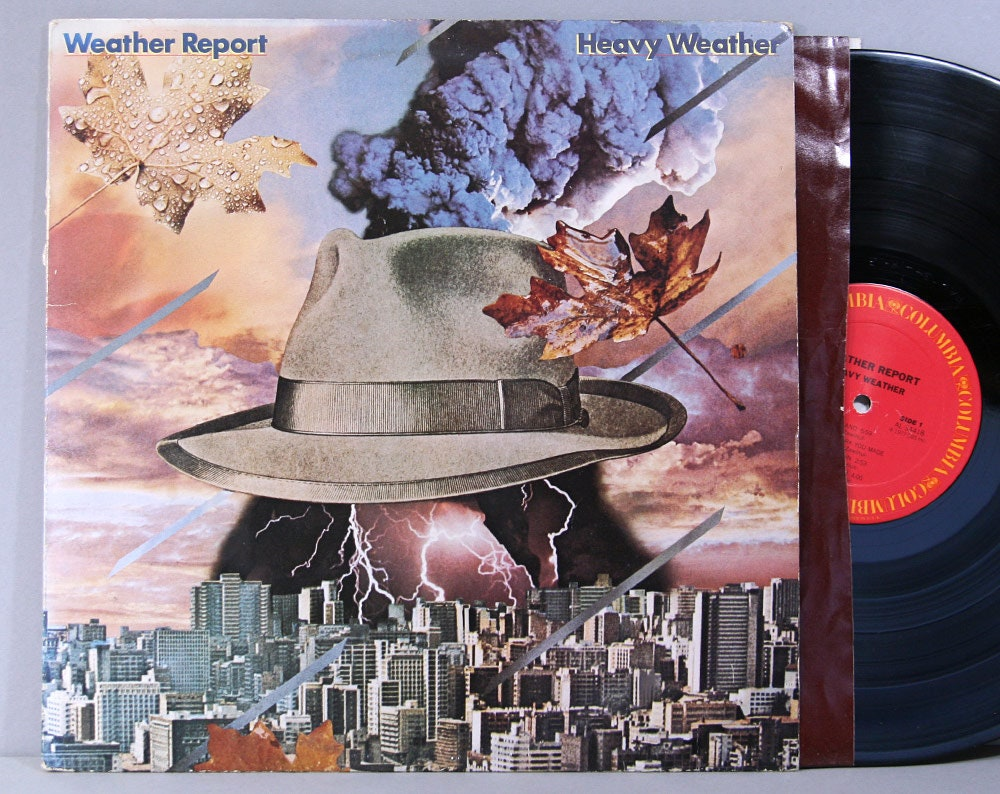 Weather Report - Heavy Weather - Vintage Vinyl Record Album 1977 - Wayne  Shorter Jaco Pastorius