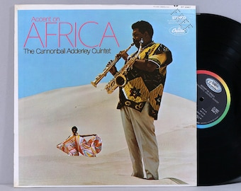 The Cannonball Adderley Quintet - Accent On Africa - Vintage Vinyl Record Album 1968 Promo