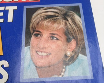 Free shipping with this Vintage People Magazine. The Secret Diana Interviews. October 13, 1997.
