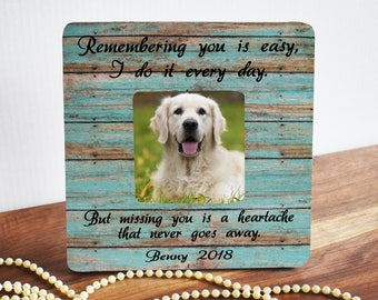 Pet Memorial Frame Etsy