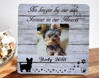 Dog Memorial Frame Dog Memorial Photo Pet Sympathy Gift Dog Loss Frame Pet Memorial Gifts Pet Remembrance In Memory of Dog Pet Loss