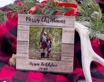 photo frame ornament etsy