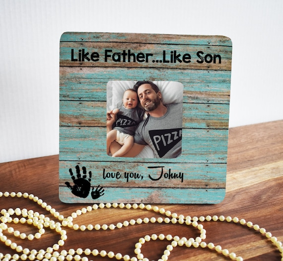 Like Father Like Son Frame Fathers Day Gift Great Gift Idea Etsy