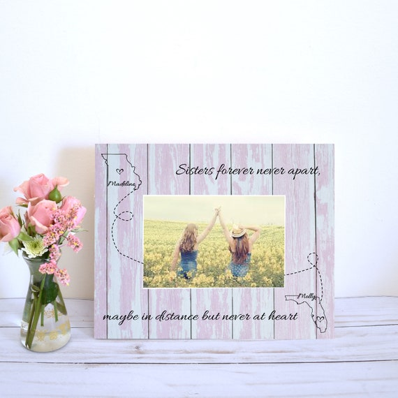 sister gift personalized gifts long distance family gifts for etsy