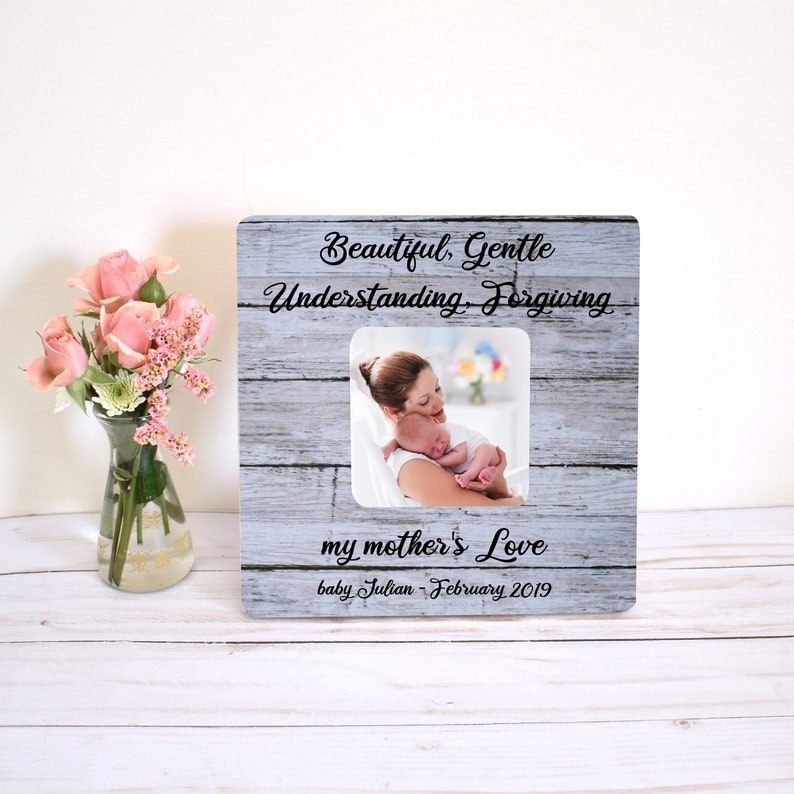 New Mom Picture Frame First Mothers Day Picture Frame Mothers Day Gift from Baby Personalized Mothers Day Gift Present for New Mommy Gift for Mommy from Baby