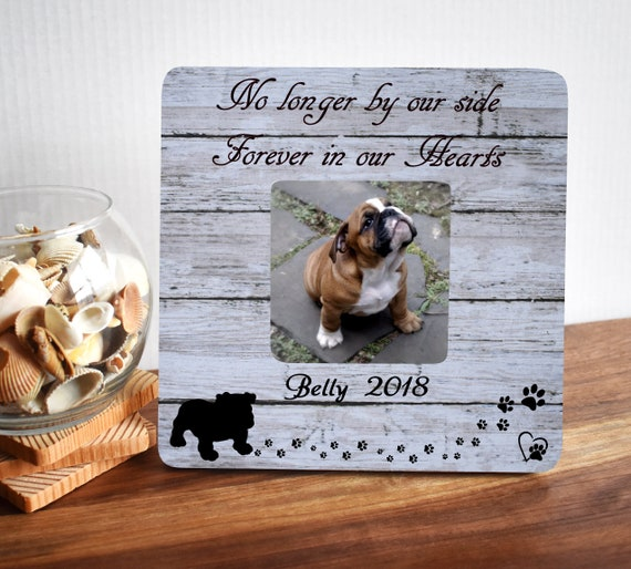 Pet Memorial Frames Pet Memorial Gift Pet Loss Frame Dog Etsy
