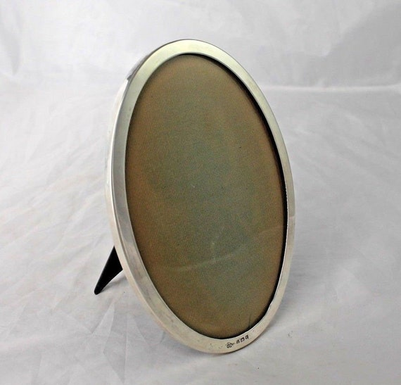 Vintage Sterling Silver Picture Frame John Collyer Ltd Etsy
