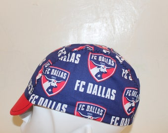 608834e73 Cycling cap FC Dallas 100% handmade in USA size L M