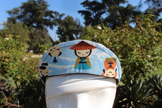 Cycling cap JAPANESE ANIMATION one size 100/% COTTON   handmade new