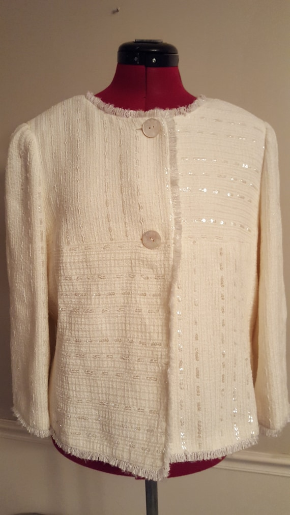 Vintage Chanel Blazer- Two Piece Authentic Chanel