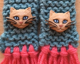 Scarf for cat or small dog, cat scarf, dog scarf, pet scarf