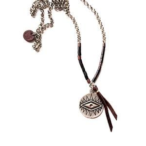 Reversible Locket Necklace Ebony Black Lava Necklace Carnelian Necklace Gold Locket TOVA BEVERLY HILLS Coat of Arms Reversible Flip Necklace