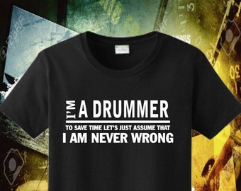 5c2e2393d8 Drummer Shirt, Drummer Gift, Funny Men Tee, Drummer Birthday, Funny Quotes,  Humorous T-Shirt, Dad Bother Son Pop Poppy Shirt, Father Day 59
