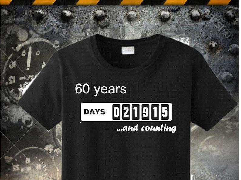 60th Birthday Tshirt Made In 1956 Born Dad