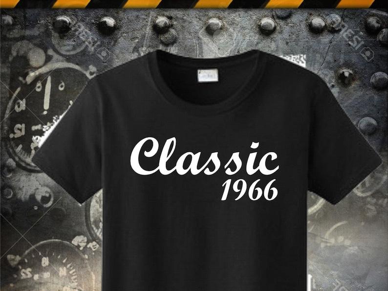 50th Birthday Tshirt Born In 1966 50 Shirt Made