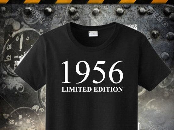 60th Birthday Tshirt 1956 Shirt 60 Born In Made