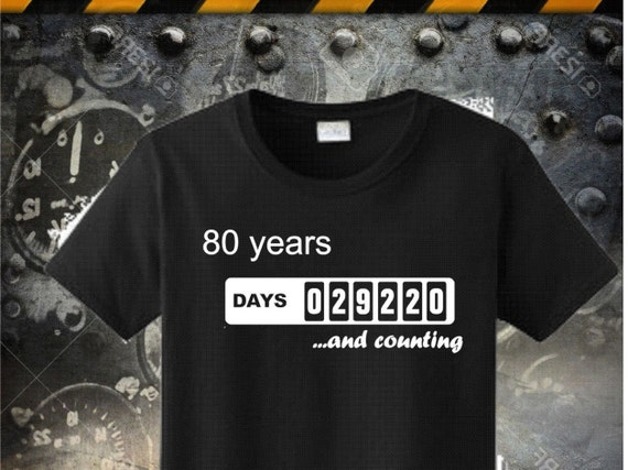 80th Birthday Tshirt Born In 1936 Made Dad