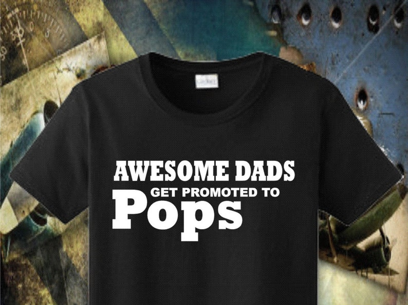 5d2f8834 Pops Shirt Pops Gift Awesome Pops T-shirt Men Shirt Papaw | Etsy
