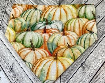 Pumpkins Dog Bandana
